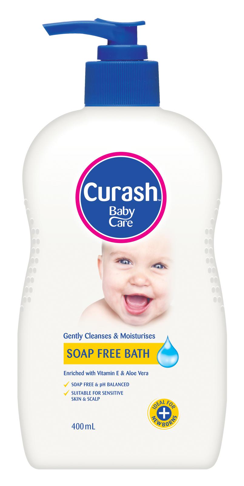 Curash Moisturising Soap Free Bath - 400ml image