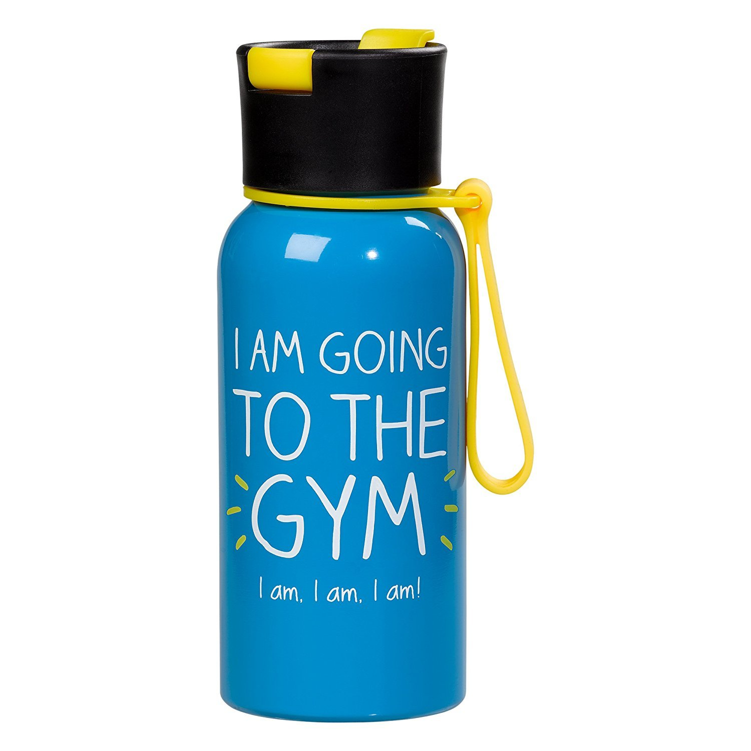 Happy Jackson Water Bottle - I Am Going To The Gym image