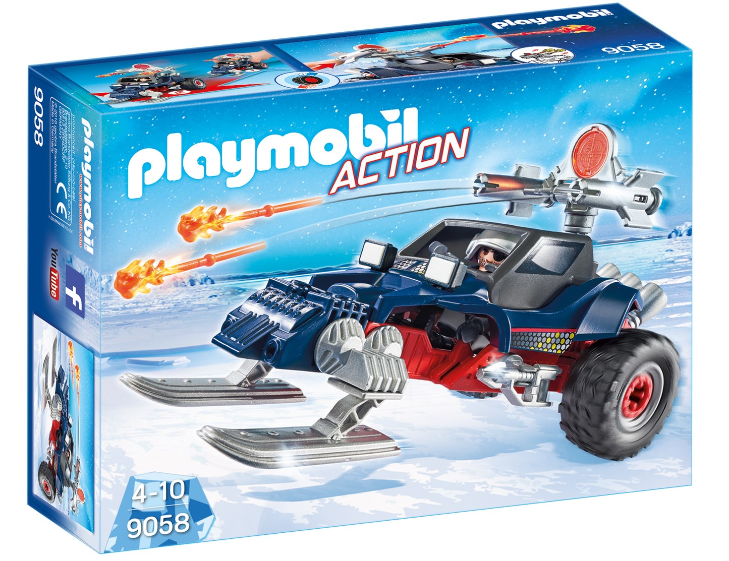 Playmobil - Ice Pirate with Snowmobile (9058) image