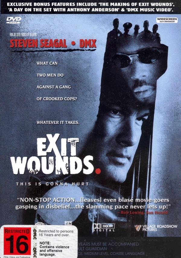 Exit Wounds on DVD image
