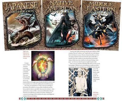 The World of Mythology by Jim Ollhoff image