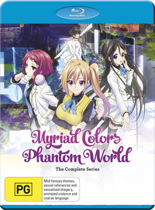 Myriad Colors Phantom World Complete Series on Blu-ray