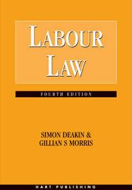 Labour Law by Simon Deakin, FBA image