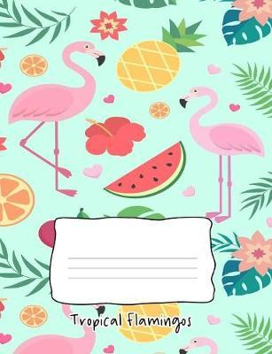 Tropical Flamingos by Candyart Journals image