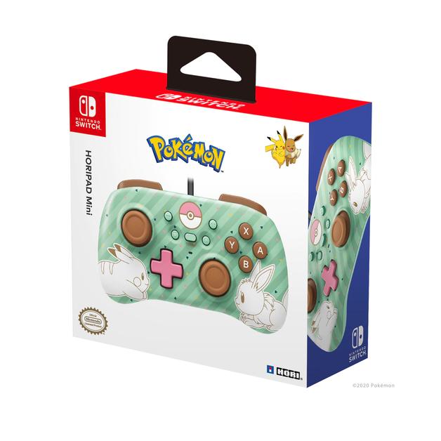 Nintendo Switch Mini HORIPAD (Pikachu & Eevee) by Hori for Switch
