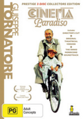 Cinema Paradiso - Prestige Collectors Edition (3 Disc Set) on DVD