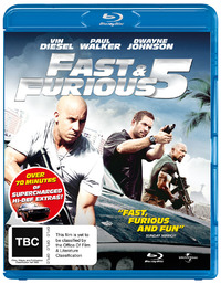 Fast & Furious 5 on Blu-ray