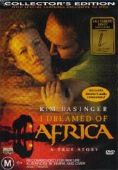 I Dreamed Of Africa on DVD