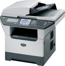 Brother MFC8460N Print Fax Scan copy Nework Ready Multifunction image