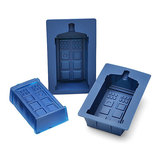Doctor Who TARDIS Silicone Jelly Mould