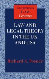 Law and Legal Theory in England and America by Richard A Posner image