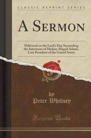 A Sermon by Peter Whitney