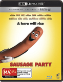 Sausage Party (4K UHD + Blu-ray) DVD