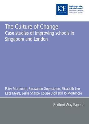 The Culture of Change by Peter Mortimore image