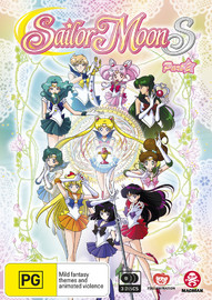 Sailor Moon S - Season 3: Part 2 (Eps 109-127) on DVD