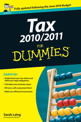 Tax 2010/2011 For Dummies by Sarah Laing image