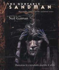 "The Quotable ""Sandman"" by Neil Gaiman image"