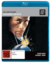 Sudden Death (Cinema Cult) on Blu-ray image
