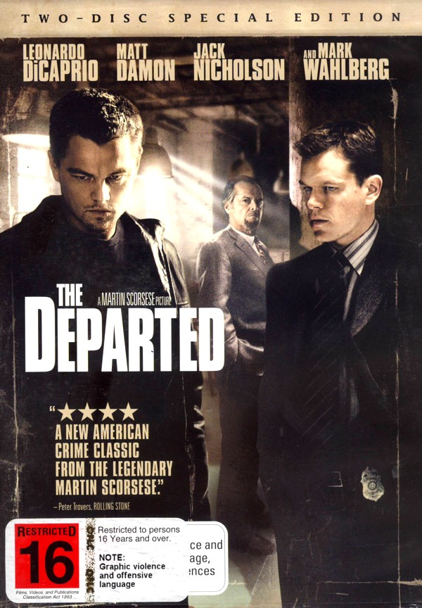 The Departed - Special Edition on DVD image