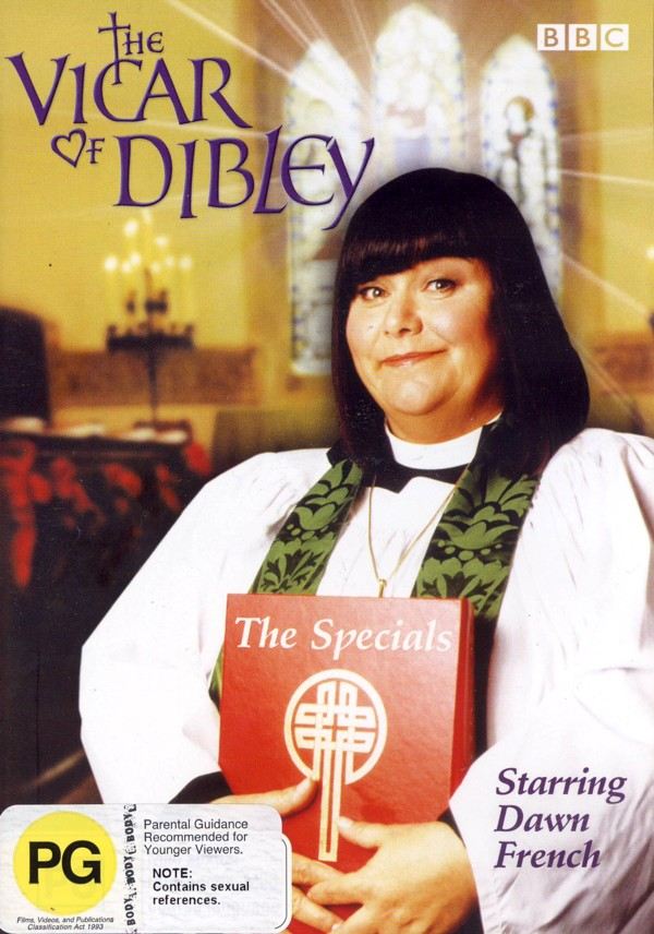 Vicar Of Dibley - The Specials on DVD image