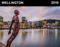 Wellington 2019 Horizontal Wall Calendar