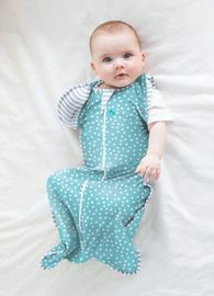 Swaddle UP 50/50 Lite - Aqua (Medium)