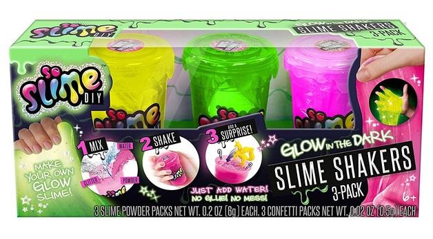 So Slime DIY: Slime Shaker 3-Pack - Glow in the Dark