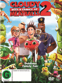 Cloudy with a Chance of Meatballs 2 on DVD