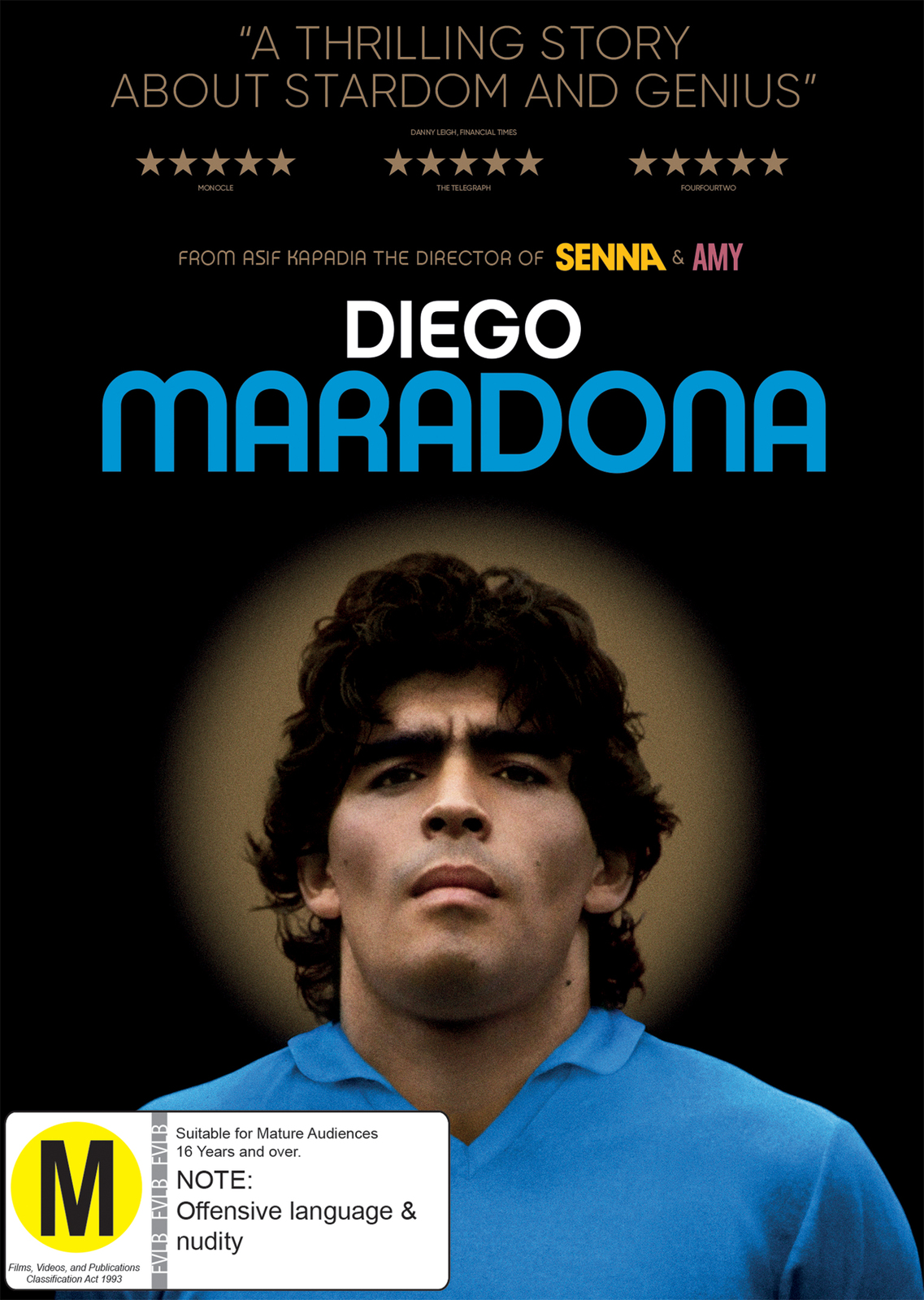 Diego Maradona on DVD image