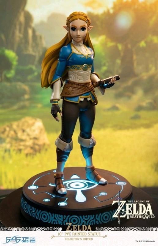 """Legend of Zelda: Breath of the Wild: Zelda - 10"""" Premium Statue (Collectors Edition)"""