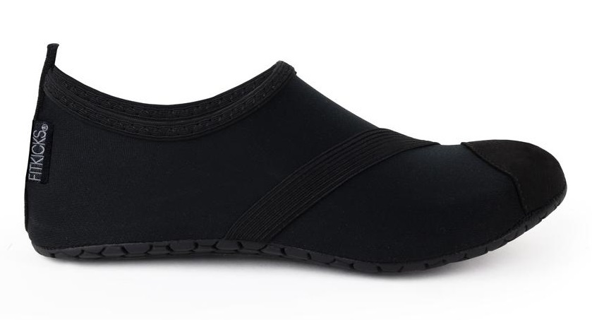 Fitkicks: Foldable Active Footwear - Black (Small) image
