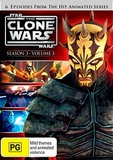Star Wars: The Clone Wars - Season 3 Volume 3 on DVD