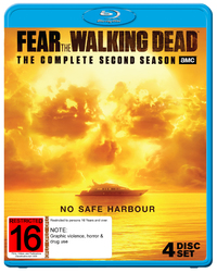 Fear The Walking Dead - The Complete Second Season on Blu-ray