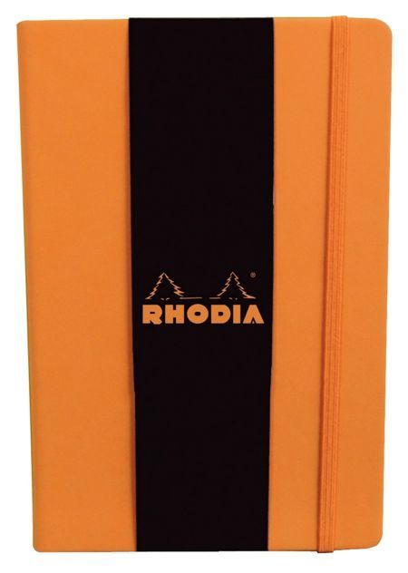 Buy Rhodia Webnotebook A5 Dot Grid Orange At Mighty Ape Nz