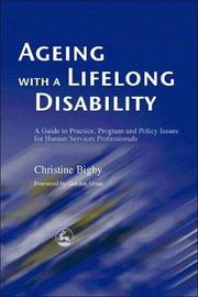 Ageing with a Lifelong Disability by Christine Bigby