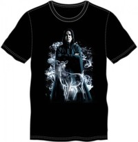 Harry Potter: Snape & Doe - Crew Neck T-Shirt (XL)