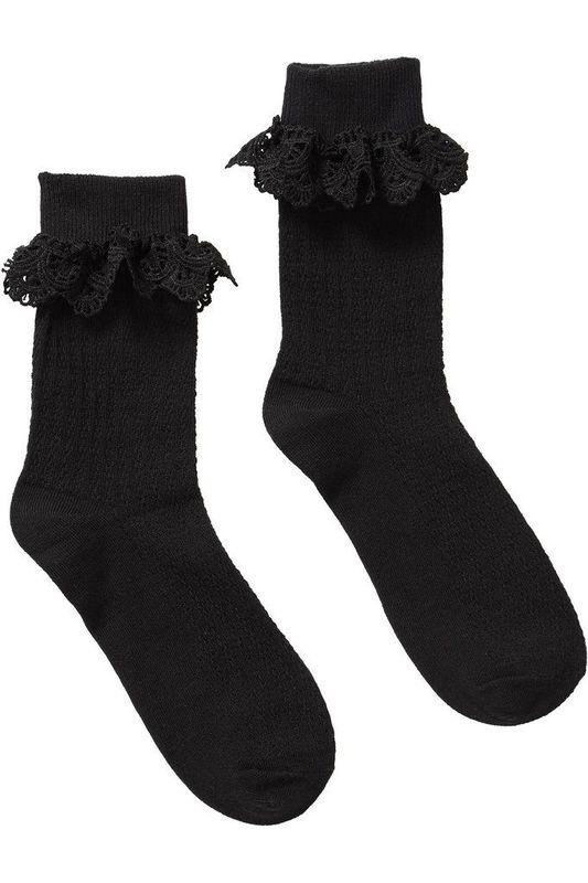 Killstar: Cruella Ankle Socks - Black (One Size)