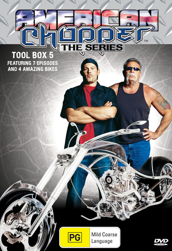 American Chopper: The Series - Tool Box 5 (Discovery Channel) on DVD