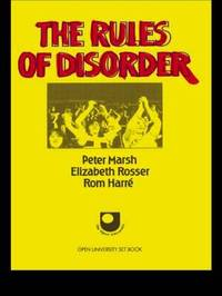 The Rules of Disorder by Peter Marsh