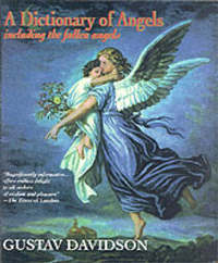 A Dictionary of Angels including the Fallen Angels by Gustav Davidson image