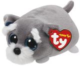 Ty Teeny - Jack Grey Dog Plush