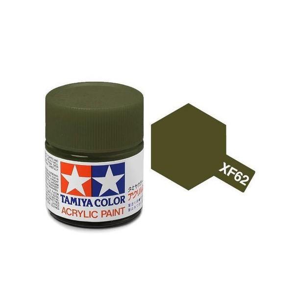 Tamiya Acrylic: Olive Drab (XF62)