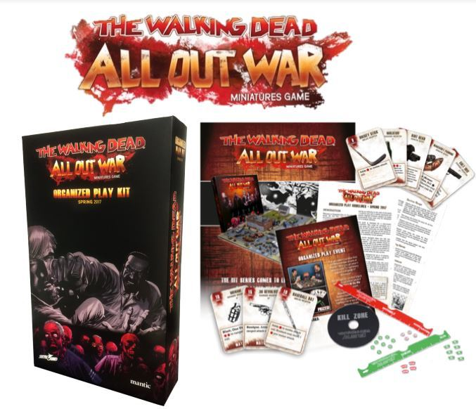 The Walking Dead: All Out War Organized Play Kit – Spring 2017 image