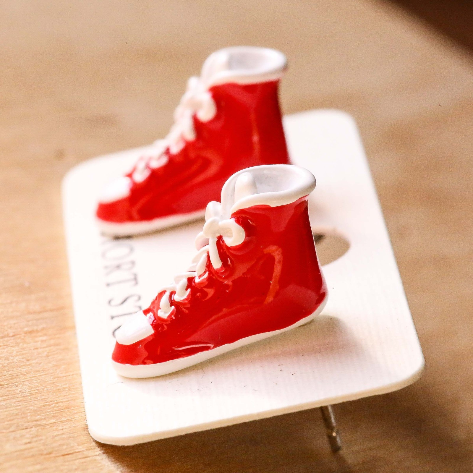 Short Story: Funky Play Earrings - Sneakers image