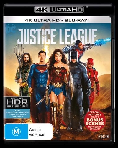Justice League (4K UHD + Blu-ray) on UHD Blu-ray image