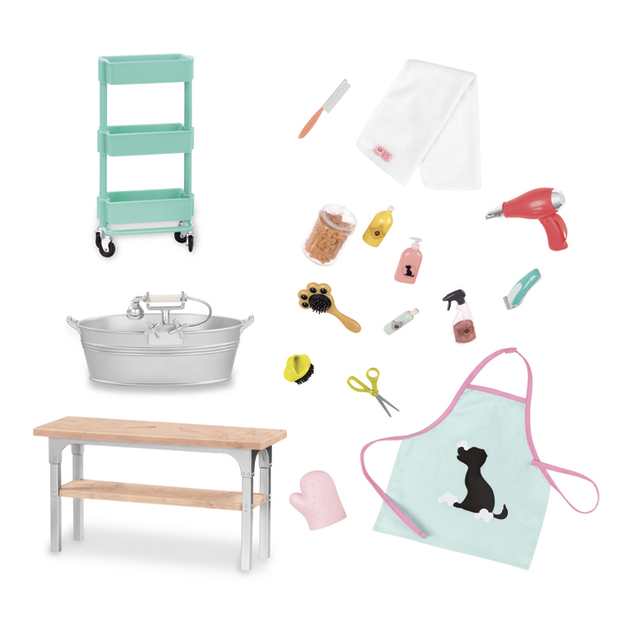 Our Generation: Home Accessory Set - Pet Grooming Salon