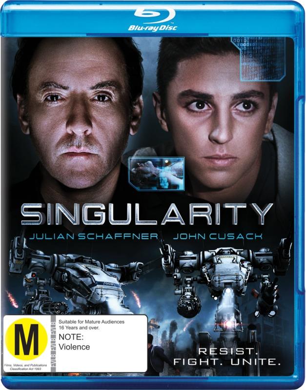 Singularity on Blu-ray