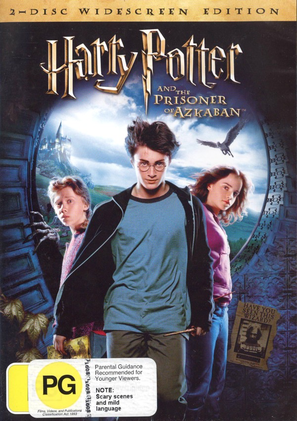 Harry Potter and the Prisoner of Azkaban (2 Disc) on DVD image