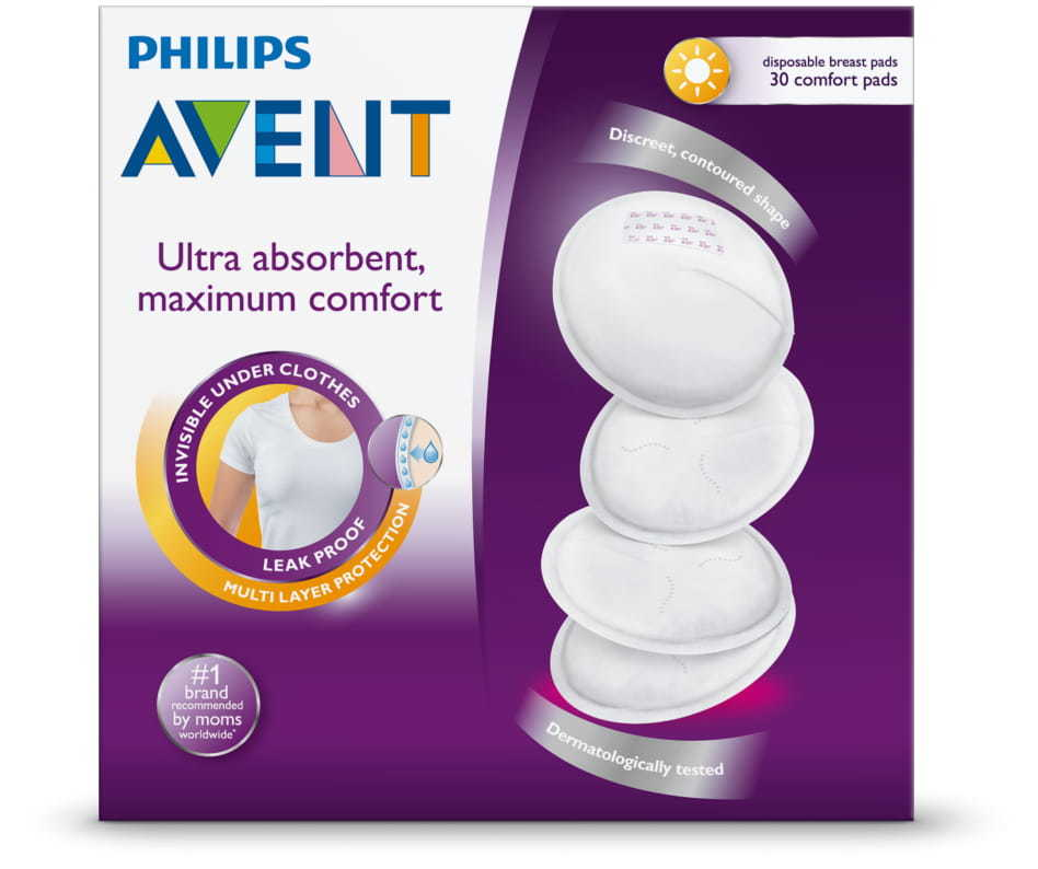 Avent Disposable Breast Pads - Day (30 Pads) image