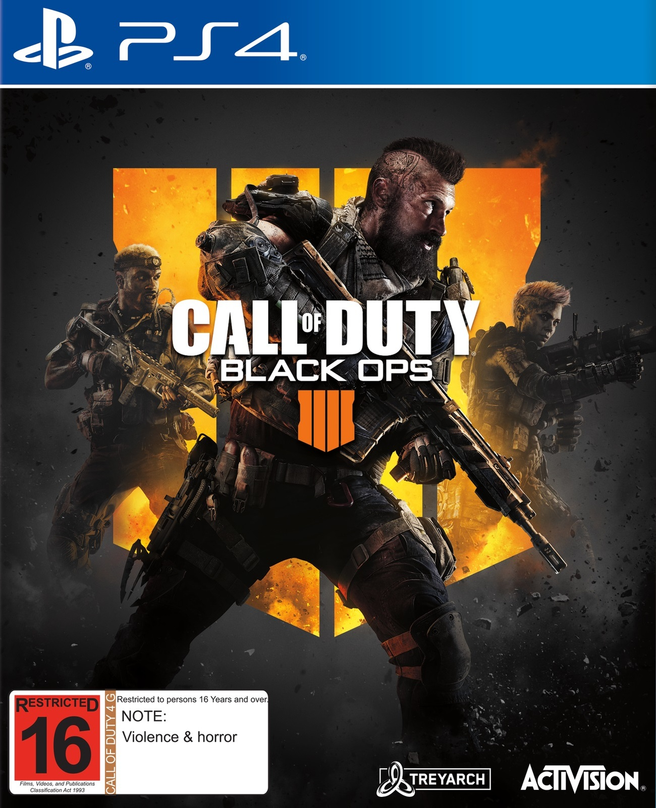 Call of duty black ops iiii for ps4 image